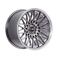 F1R Wheels - F1R Wheels Rim F23 18x10.5 5x100/114.3 ET40 Hyper Black/Polish Lip - Image 3