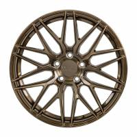 F1R Wheels - F1R Wheels Rim F103 18x9.5 5x114 ET38 Brushed Bronze - Image 1
