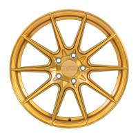 F1R Wheels - F1R Wheels Rim F101 18x9.5 5x112 ET42 Brushed Gold - Image 1