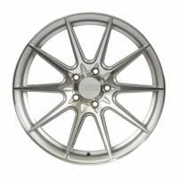 F1R Wheels - F1R Wheels Rim F101 18x9.5 5x100 ET38 Machine Silver - Image 1
