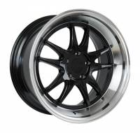 F1R Wheels - F1R Wheels Rim F102 18x9.5 5x114 ET38 Gloss Black/Polish Lip - Image 2