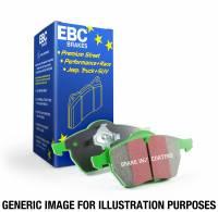 EBC Brakes - EBC 12+ Chrysler Town & Country 3.6 Greenstuff Front Brake Pads - Image 2