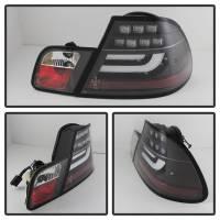 Spyder Auto - Spyder BMW E46 3-Series 04-06 2Dr Light Bar Style LED Tail Lights - Black - Image 2