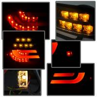 Spyder Auto - Spyder BMW E46 3-Series 04-06 2Dr Light Bar Style LED Tail Lights - Black - Image 5