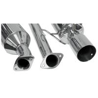 DC Sports - DC Sports Cat-Back Exhaust System 02-06 ACURA RSX TYPE-S - Image 2