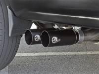 Advanced FLOW Engineering - aFe Rebel Series CB Middle-Side Exit SS Exhaust w/ Black Tips 09-16 GM Silverado/Sierra V6/V8 - Image 2