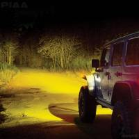 "PIAA - PIAA LP530 Ion Yellow 3.5"" SAE Compliant LED Fog Light - Image 5"