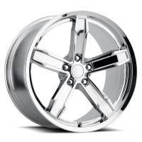 Factory Reproductions Wheels - FR Series Z10 Replica Iroc Wheel 20x10 5X120 ET20 66.9CB Chrome - Image 1