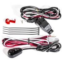 Anzo USA - ANZO 12V Wiring Kit Universal 12V Auxiliary Wiring Kit w/ Illuminated Switch - Image 1