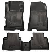 Husky Liners - Husky Liners 11-12 Kia Sorento (Auto Trans. Only) WeatherBeater Combo Black Floor Liners - Image 1