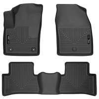 Husky Liners - Husky Liners 2018 Toyota CH-R Weatherbeater Black Front & 2nd Seat Floor Liners - Image 1