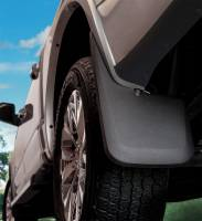 Husky Liners - Husky Liners 2015 Ford F-150 w/ OE Fender Flares Mud Guards Black Front Mud Guards - Image 2