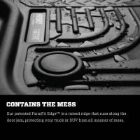 Husky Liners - Husky Liners 2015 Nissan Murano Weatherbeater Black 2nd Row Floor Liners - Image 3