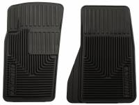 Husky Liners - Husky Liners 07-11 Jeep Wrangler (Base/Unlimited)/02-07 Liberty Heavy Duty Black Front Floor Mats - Image 1