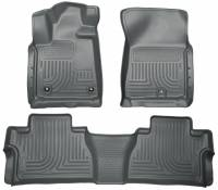 Husky Liners - Husky Liners 14 Toyota Tundra Weatherbeater Grey Front & 2nd Seat Floor Liners - Image 1