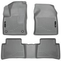 Husky Liners - Husky Liners 2016 Toyota Prius WeatherBeater Front and 2nd Seat Gray Floor Liners - Image 1