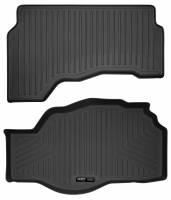 Husky Liners - Husky Liners 2013-2016 Ford Fusion S Hybrid /SE Hybrid WeatherBeater Black Trunk Liner - Image 1