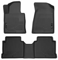 Husky Liners - Husky Liners 2015 Hyundai Sonata Weatherbeater Black Front & 2nd Seat Floor Liners - Image 1