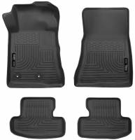 Husky Liners - Husky Liners 2015 Ford Mustang WeatherBeater Black Front & Second Seat Floor Liner - Image 1