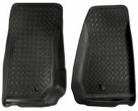 Husky Liners - Husky Liners 07-12 Jeep Wrangler (Base/Unlimited) Classic Style Black Floor Liners - Image 1
