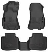 Husky Liners - Husky Liners 13 Subaru Legacy/Outback WeatherBeater Front & 2nd Seat Black Floor Liners - Image 1