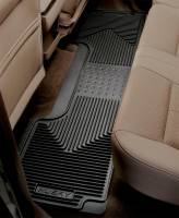Husky Liners - Husky Liners 12-13 Dodge Ram/88-09 Toyota 4Runner Heavy Duty Black 2nd Row Floor Mats - Image 2