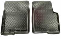 Husky Liners - Husky Liners 02-07 Jeep Liberty Classic Style Black Floor Liners - Image 1