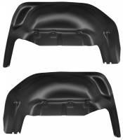 Husky Liners - Husky Liners 2019 GMC Sierra 1500 Black Rear Wheel Well Guards - Image 1