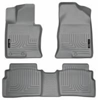 Husky Liners - Husky Liners 11-12 Hyundai Sonata WeatherBeater Combo Gray Floor Liners - Image 1