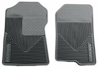 Husky Liners - Husky Liners 98-02 Ford Expedition/F-150/Lincoln Navigator Heavy Duty Gray Front Floor Mats - Image 1