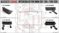 Wagner Tuning - Wagner Tuning BMW 135i/335i/1M EVO II Performance Intercooler Kit - Image 6