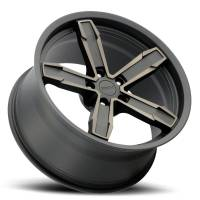 Factory Reproductions Wheels - FR Series Z10 Replica Iroc Wheel 20x11 5X120 ET43 66.9CB Satin Black Machine Face with Bronze Clear - Image 2