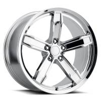 Factory Reproductions Wheels - FR Series Z10 Replica Iroc Wheel 20x11 5X120 ET43 66.9CB Chrome - Image 1