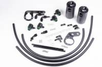 Radium Engineering - Radium Engineering 2017+ Honda Civic Type-R Dual Catch Can Kit - Image 1