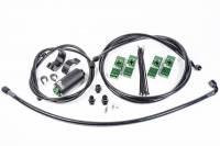 Radium Engineering - Radium Engineering Toyota Supra MK4 Fuel Hanger Plumbing Kit w/ Microglass Filter - Image 1