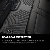 Husky Liners - Husky Liners 2017 Ford F-250 Super Duty Crew Cab X-Act Contour Cocoa 2nd Seat Floor Liner - Image 5