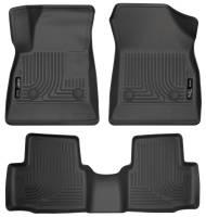 Husky Liners - Husky Liners 2016-2017 Chevrolet Cruze WeatherBeater Combo Floor Liners - Black - Image 1