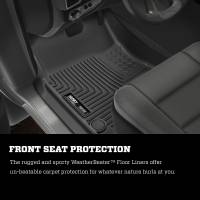 Husky Liners - Husky Liners 2019+ Dodge Ram 1500 Quad Cab WeatherBeater 2nd Seat Black Floor Liners - Image 7
