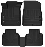 Husky Liners - Husky Liners 2018 Honda Accord WeatherBeater Black Front & 2nd Seat Floor Liners - Image 1