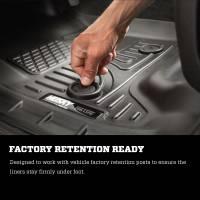 Husky Liners - Husky Liners 2016 Nissan Titan XD Crew Cab WeatherBeater Front Row Black Floor Liners - Image 5