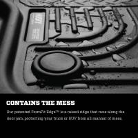 Husky Liners - Husky Liners 2014-2015 Ford Transit Connect WeatherBeater Front Black Floor Liners - Image 3