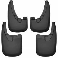 Husky Liners - Husky Liners 09-17 Dodge Ram 1500 w/o Fender Flares Front and Rear Mud Guards - Black - Image 1