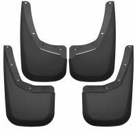 Husky Liners - Husky Liners 07-13 Chevy Silverado 1500 LT / 07-14 Siverado 2500HD Front and Rear Mud Guards - Black - Image 1