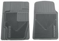 Husky Liners - Husky Liners 03-06 Infiniti G35/05-07 Subaru WRX/01-04 Lexus IS300 Heavy Duty Gray Front Floor Mats - Image 1