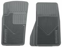 Husky Liners - Husky Liners 07-11 Jeep Wrangler (Base/Unlimited)/02-07 Liberty Heavy Duty Gray Front Floor Mats - Image 1