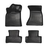 Husky Liners - Husky Liners 10-11 Merceded GLK WeatherBeater Combo Black Floor Liners - Image 1