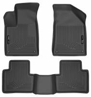 Husky Liners - Husky Liners 15 Chrysler 200 Weatherbeater Black Front and Second Seat Floor Liners - Image 1