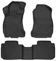 Husky Liners - Husky Liners 14 Subaru Forester Weatherbeater Black Front & 2nd Seat Floor Liners - Image 1