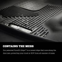 Husky Liners - Husky Liners 2015 Chevy Colorado / GMC Canyon Extended Cab X-Act Contour Black 2nd Row Floor Liners - Image 4