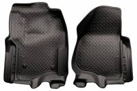 Husky Liners - Husky Liners 2012 Ford F250/F350 SD Super Cab Classic Style Black Floor Liner (w/Manual Trans. Case) - Image 1